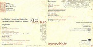 10 years EHB in South Tyrol